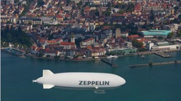 Над озером Бодензее в Германии запустят дирижабль
